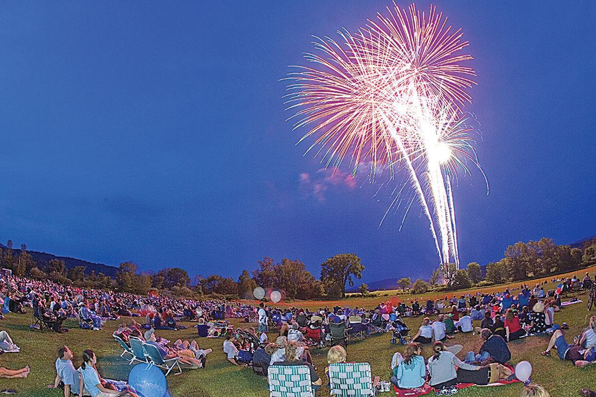 Stowe fireworks