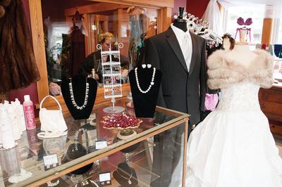 Interior of Brigid Bridal