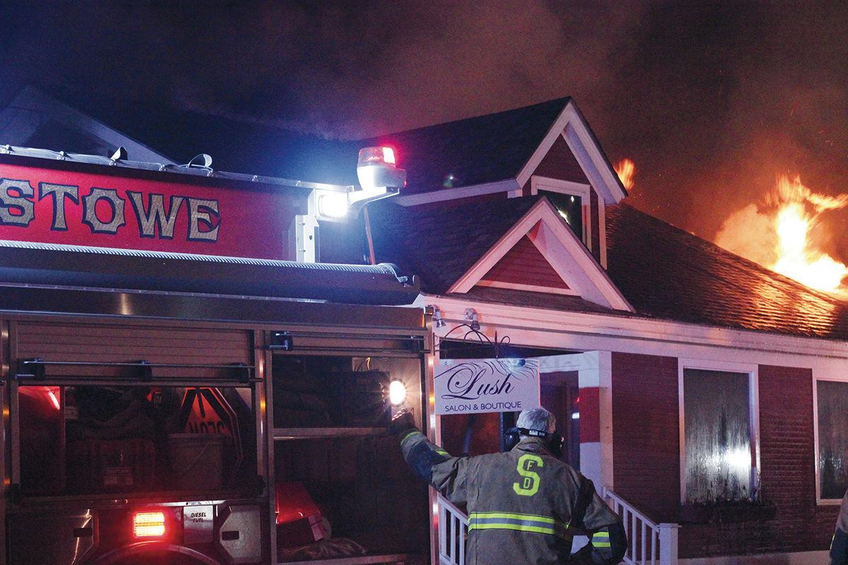 Stoware Common Building fire