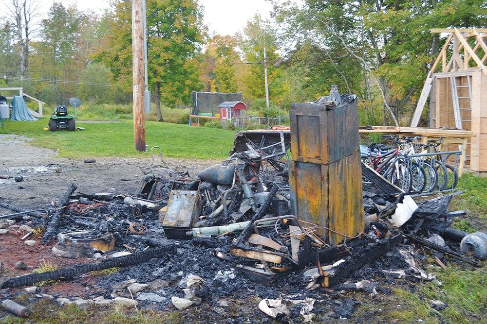 Morristown arson