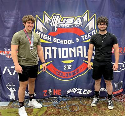 Shelburne powerlifters compete at Nationals