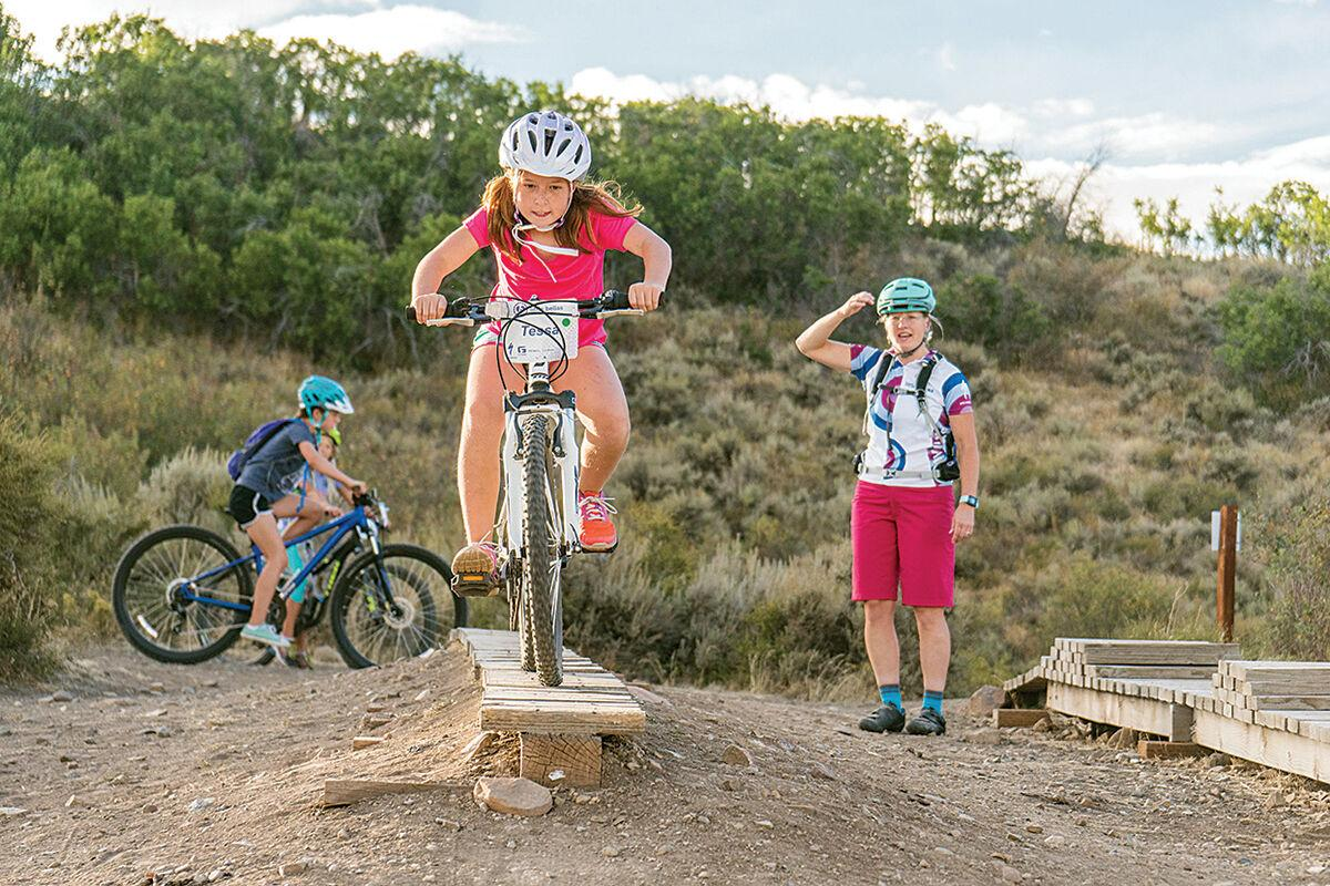 Youngsters learn to ride