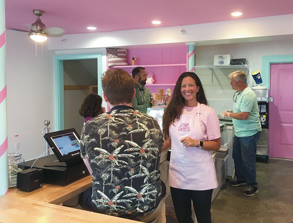 Cristina Mink of Stowe Sweets