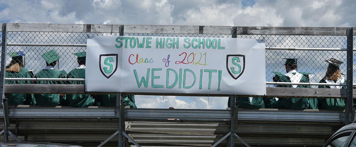 Stowe High School graduation 2021