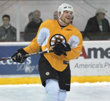Stars on ice: My day with the Bruins