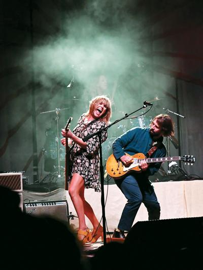 Grace Potter with Benny Yurco