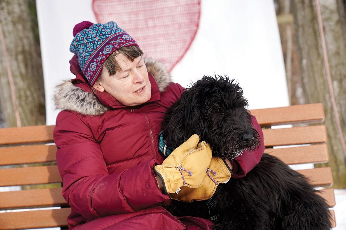 Mary Hyde hugs Shea Hyde
