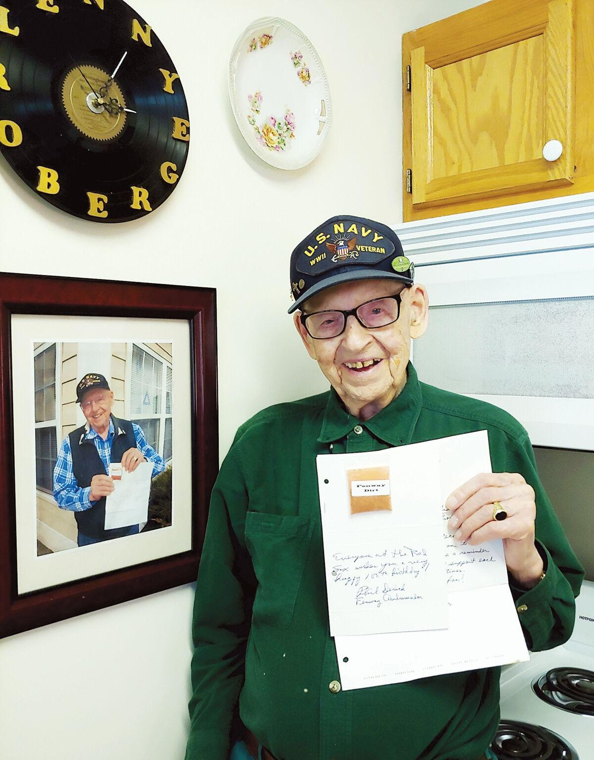 Lenny Roberge will celebrate his 107th birthday June 12