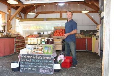 4393 Awards: Best local farmers' market vendor - Pete Johnson, Pete's Greens