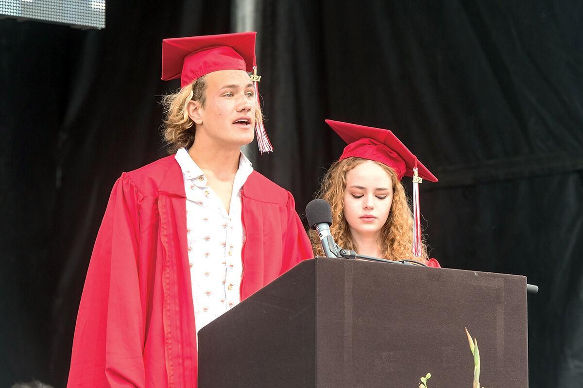 Champlain Valley Union High School 2021 Graduation