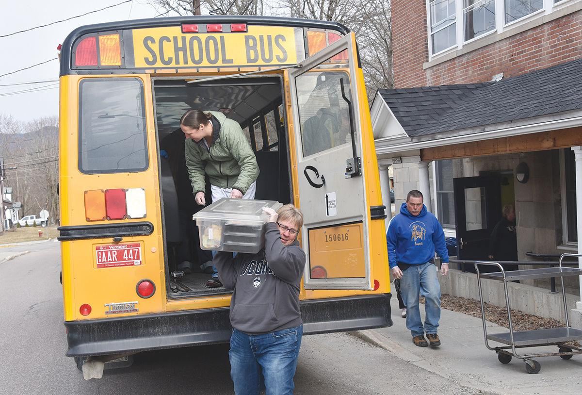 Harwood school district provides meals