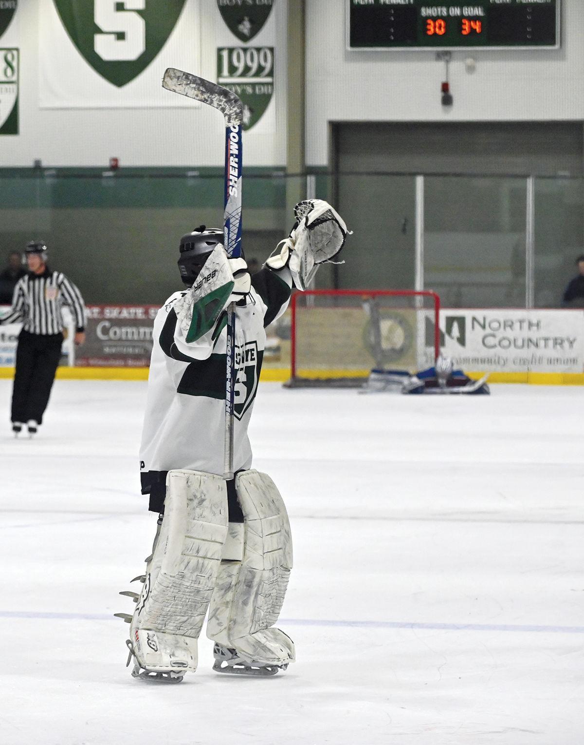 Stowe boys hockey: Ethan Brown