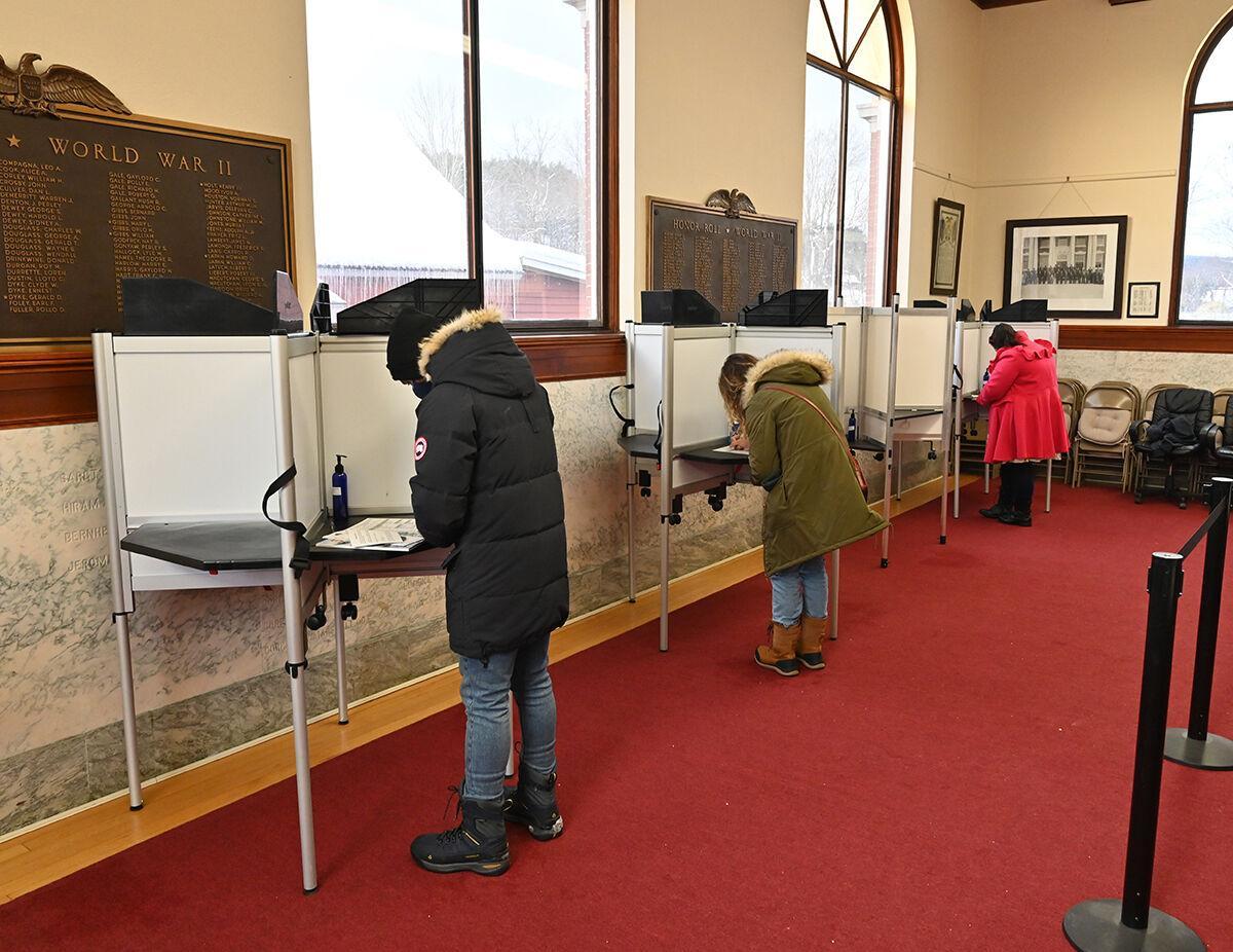 Voting in Stowe