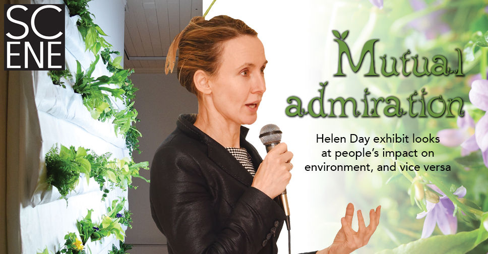 Mutual admiration: Natalie Jeremijenko exhibit at Helen Day