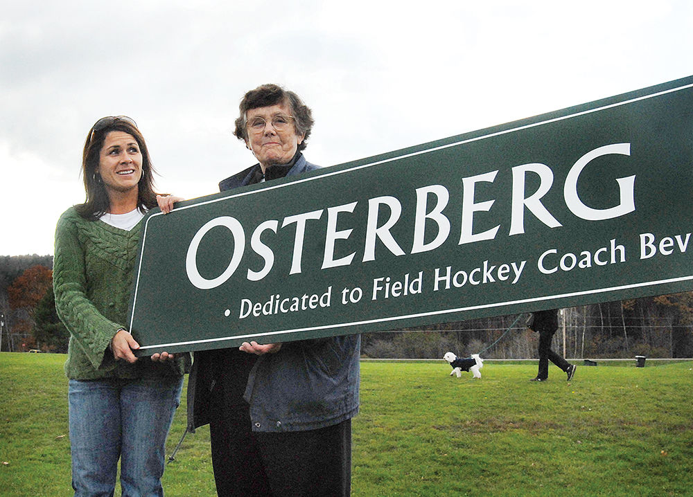 Dedication to Bev Osterberg