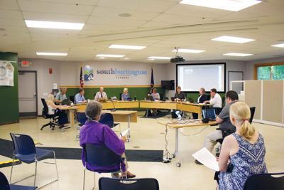 South Burlington city councilors met