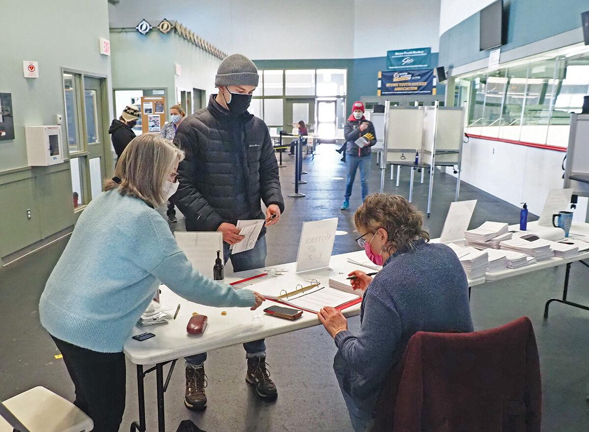 Stowe Town Meeting Day 2021: First time voter