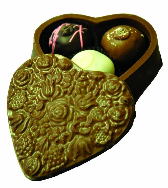 Truffles by Laughing Moon Chocolates.