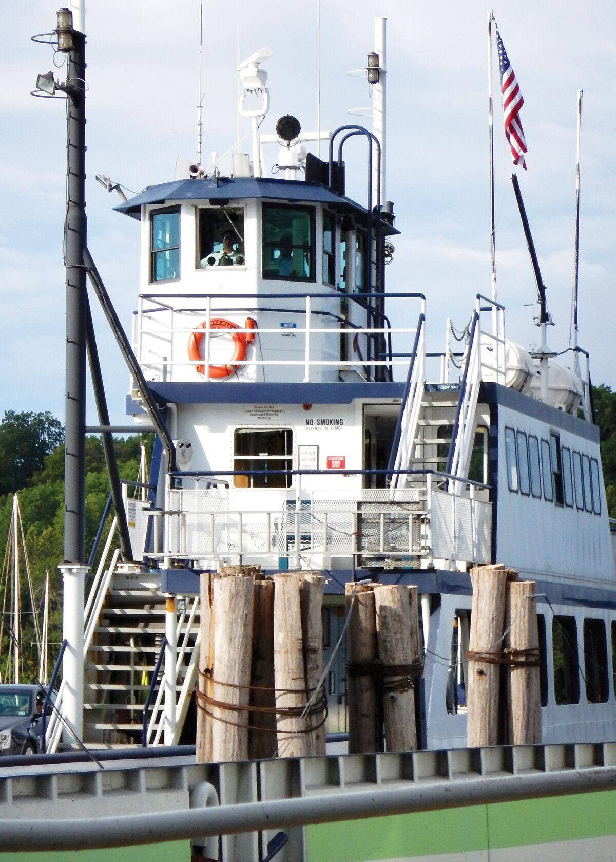 Charlotte-Essex Ferry has been suspended by Lake Champlain Transportation