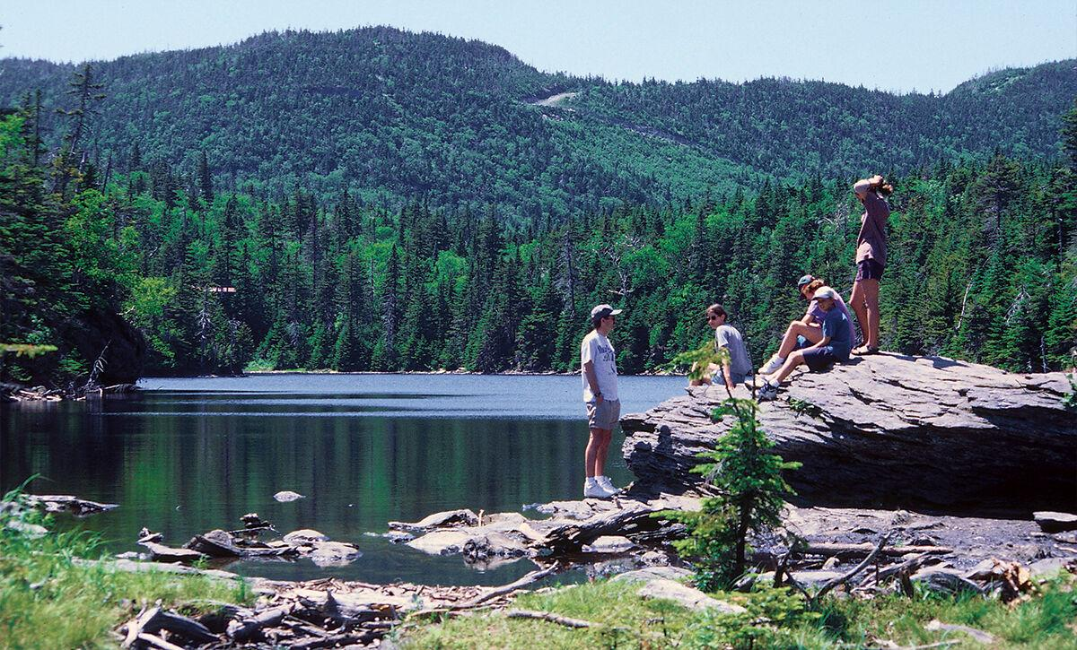 Take a hike to the state's highest elevation trout pond