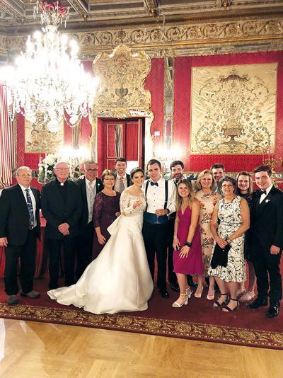 The wedding of Matthew Zahn and Angela Sako