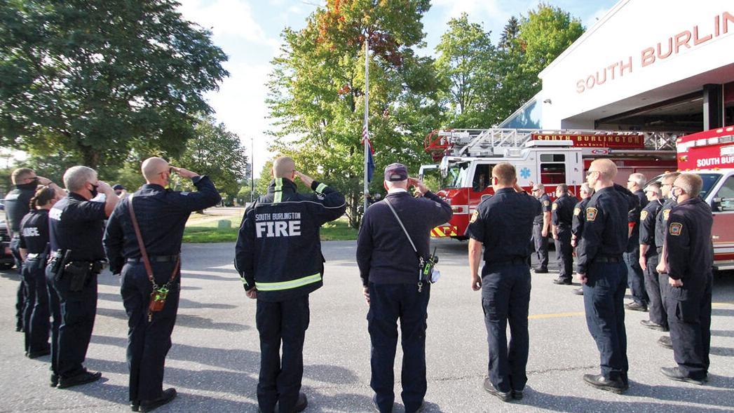 Observing 9/11 at South Burlington Fire Department