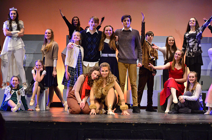 Vermont Youth Dancers perform at high school