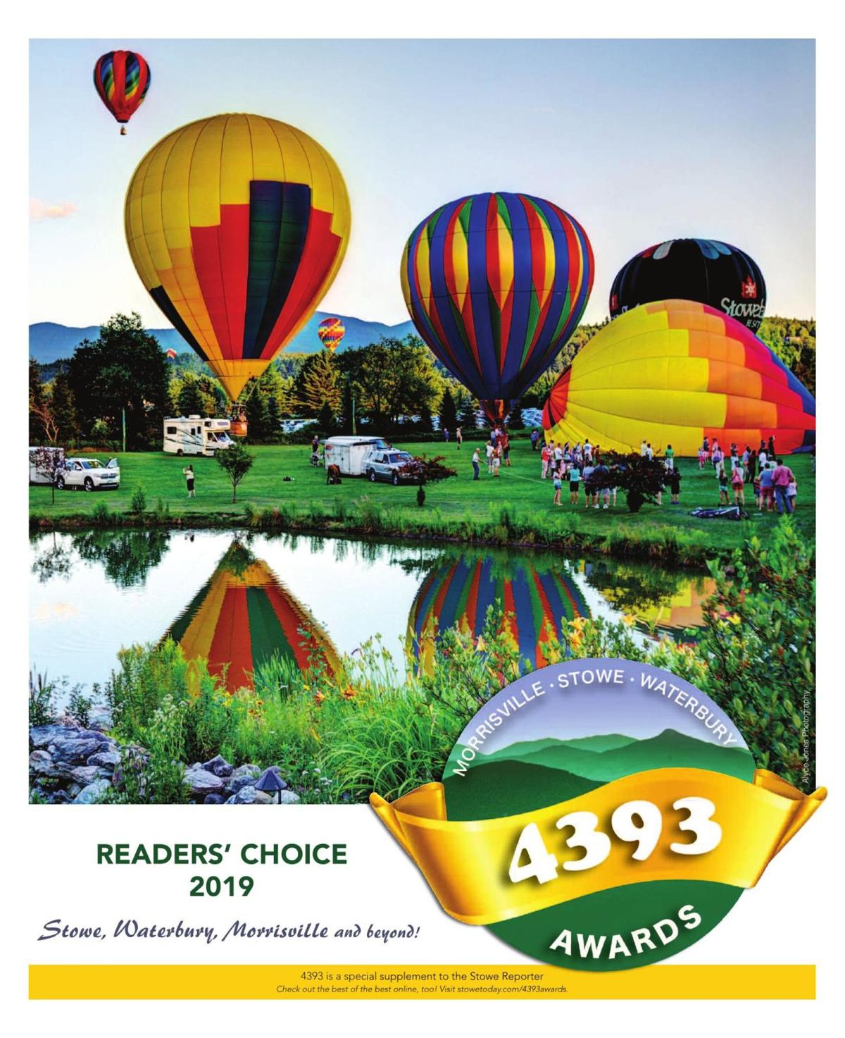 Welcome to the 4393 Awards Readers' Choice 2019