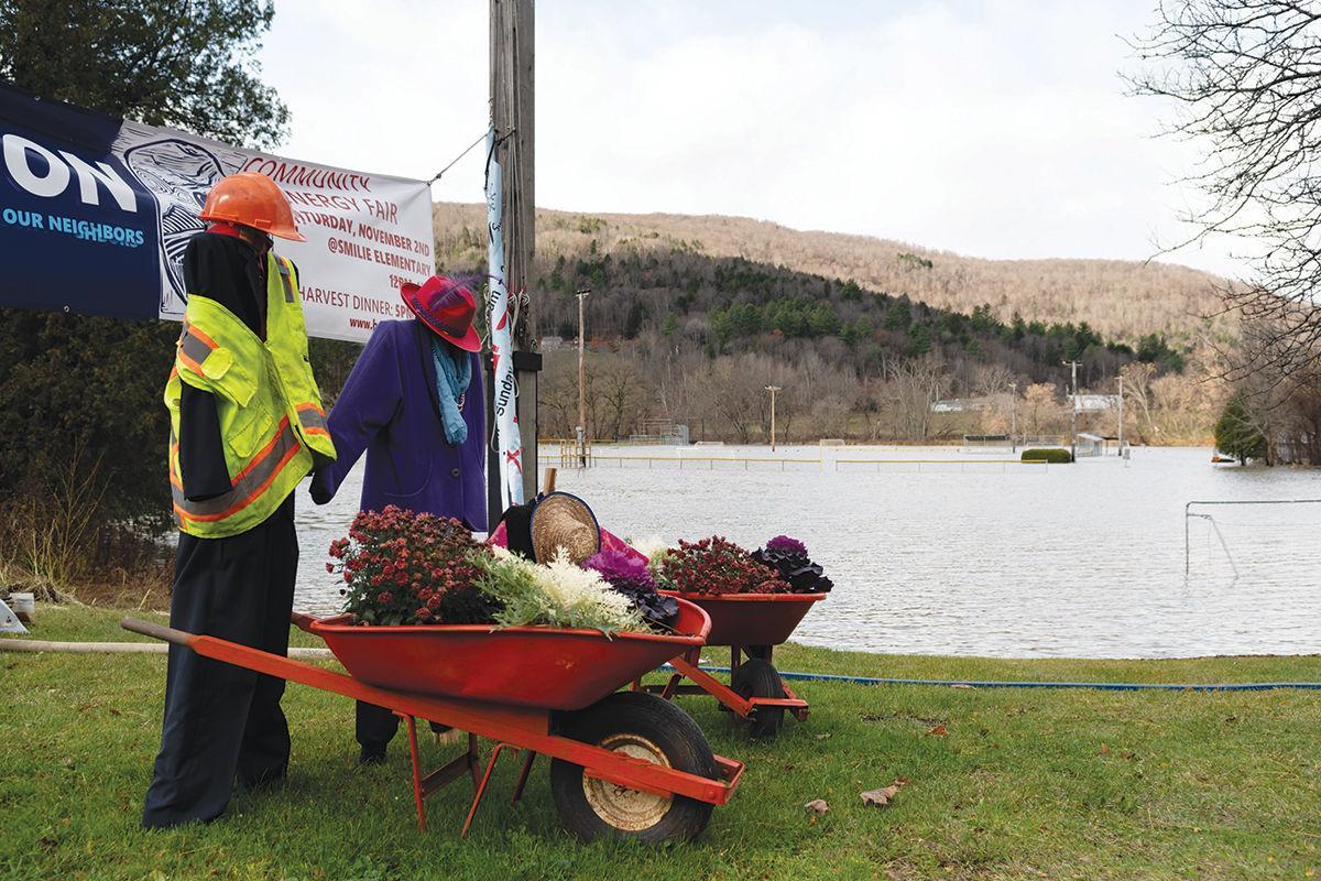 Dac Rowe field flooding