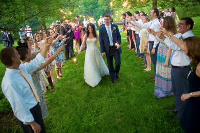 Intervale wedding