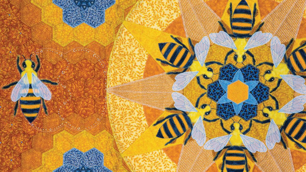 Shelburne quilter goes to the bees