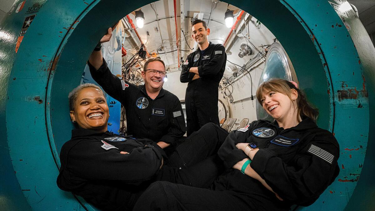 Professor with ties to Hinesburg heads to outer space