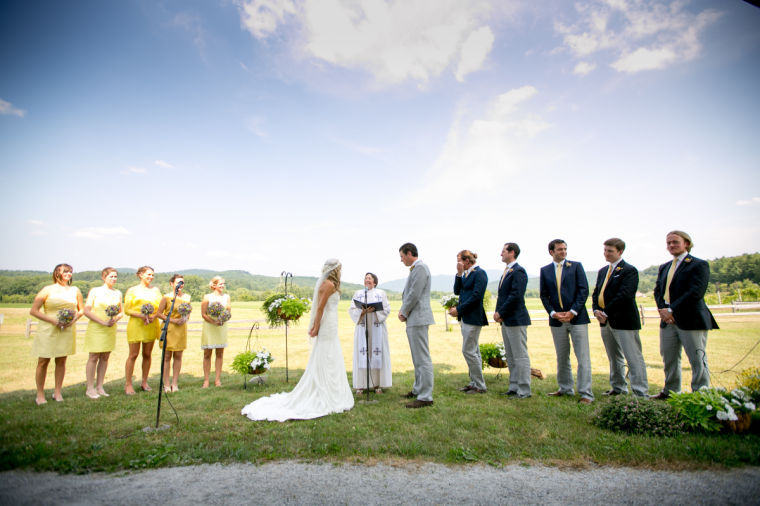 Our wedding was the culmination of the most unpredictable, turbulent year of my life.
