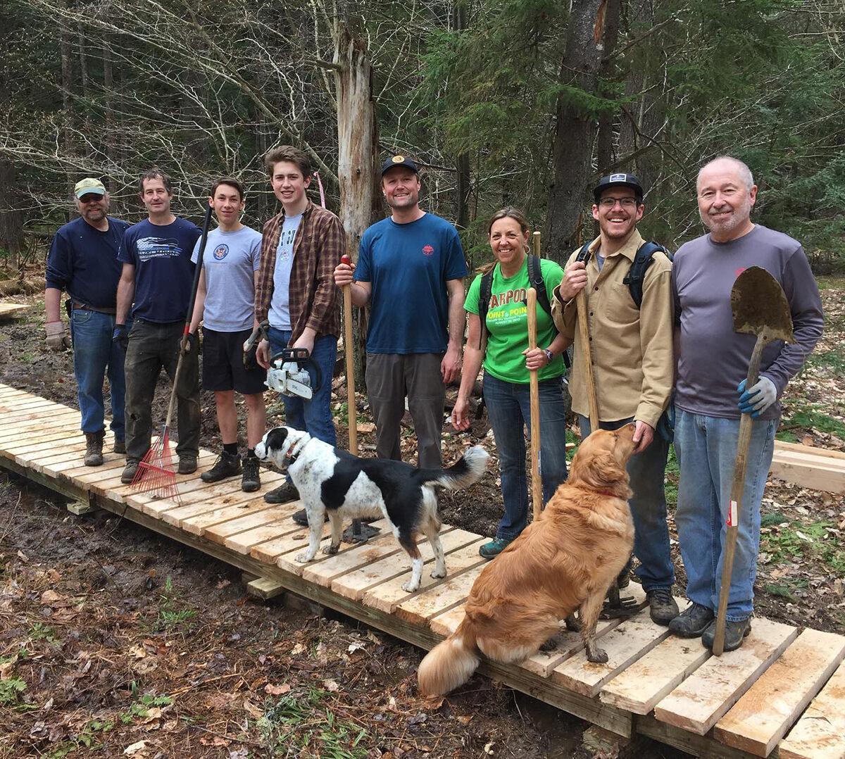 Macutchan trail crew