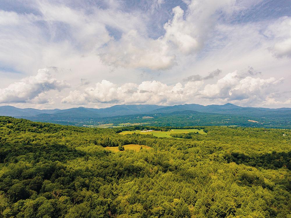 Brownsville vistas of Vermont scenery