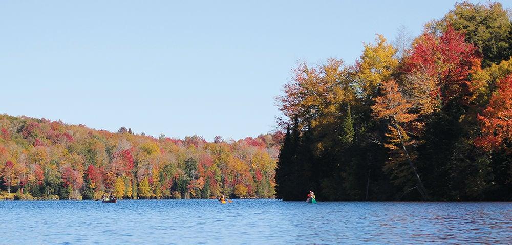 Autumnal Green River Reservoir