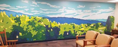Tamarack Family Medicine mural