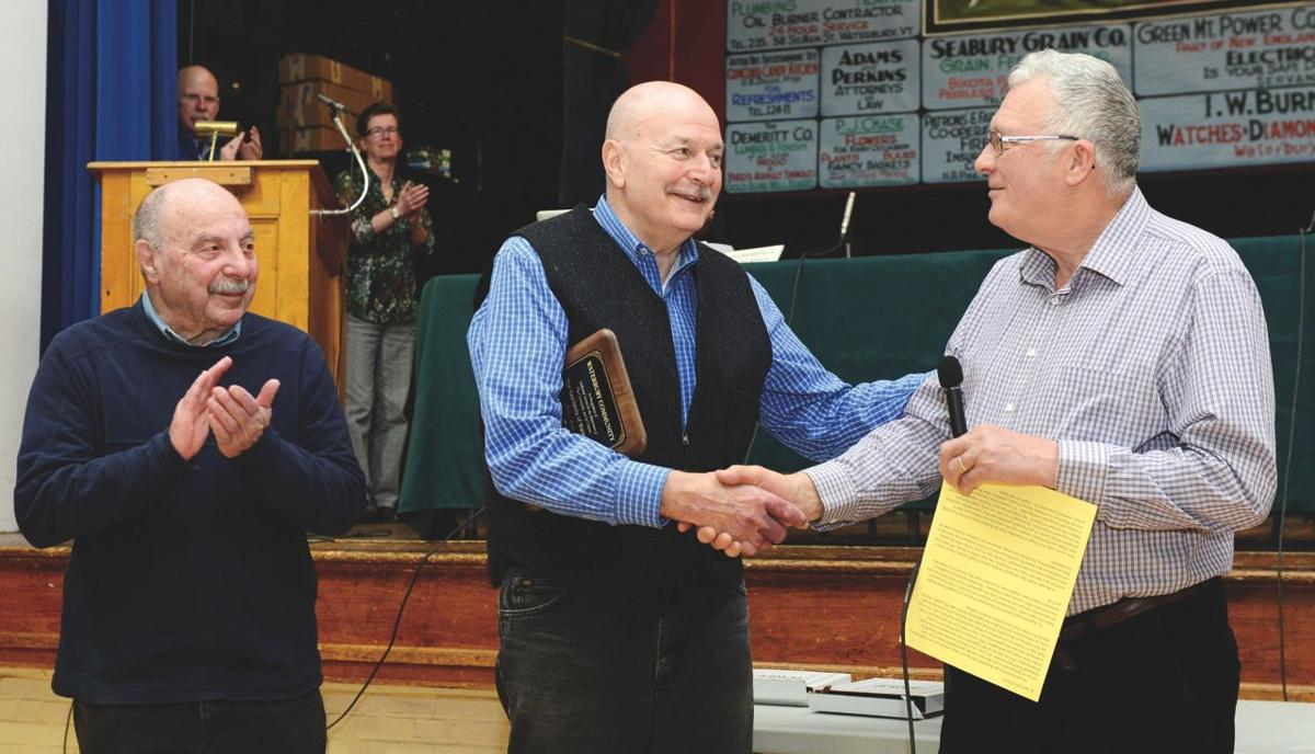 Waterbury Town Meeting 2017: Jack Carter and Ted Schultheis