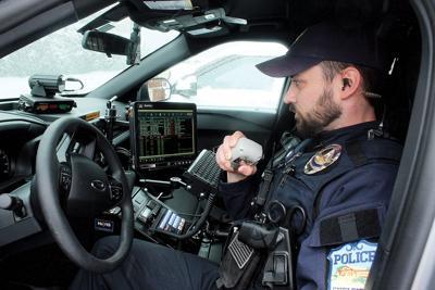 Shelburne Police Officer Kyle Brooks