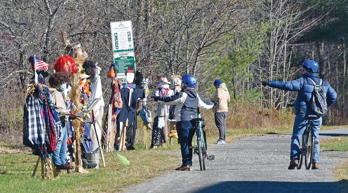 Scarecrow challenge in Morrisville