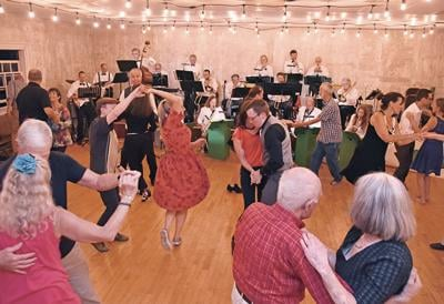 Green Mountain Swing at the Grange Hall Cultural Center
