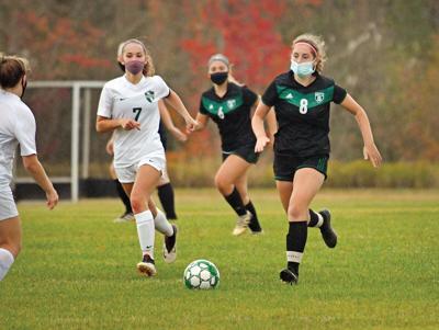 Stowe girls' soccer team
