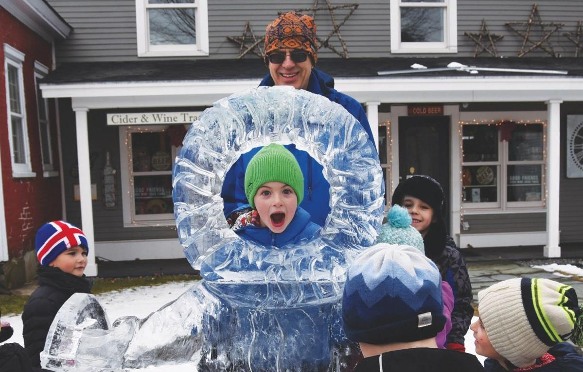 Art on ice: Cold-weather carvers talk about their art ahead of Stowe's 20th annual ice-carving competition