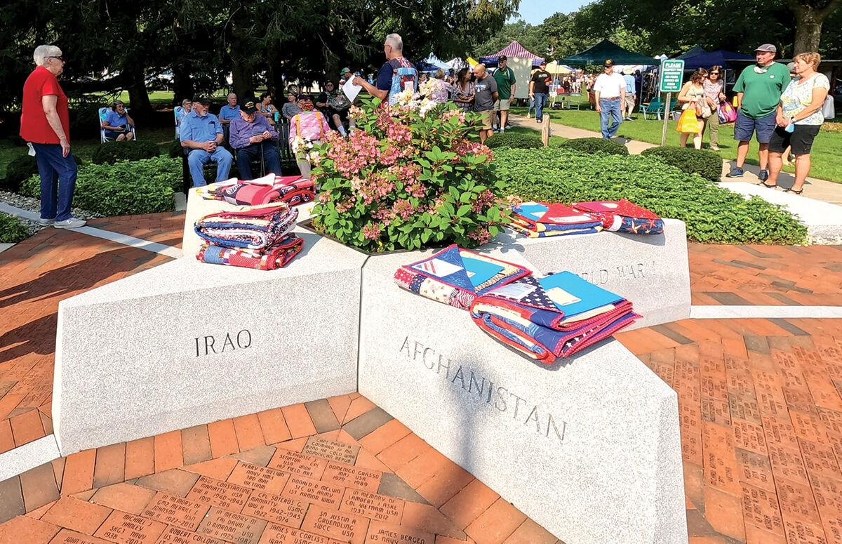 Veterans honored at annual Shelburne Day