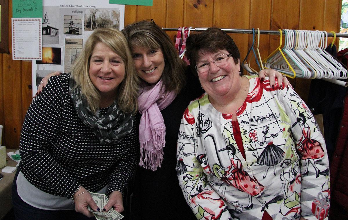 Sisters Laurie Danforth, Lana Ouimet and Lynn Wolski