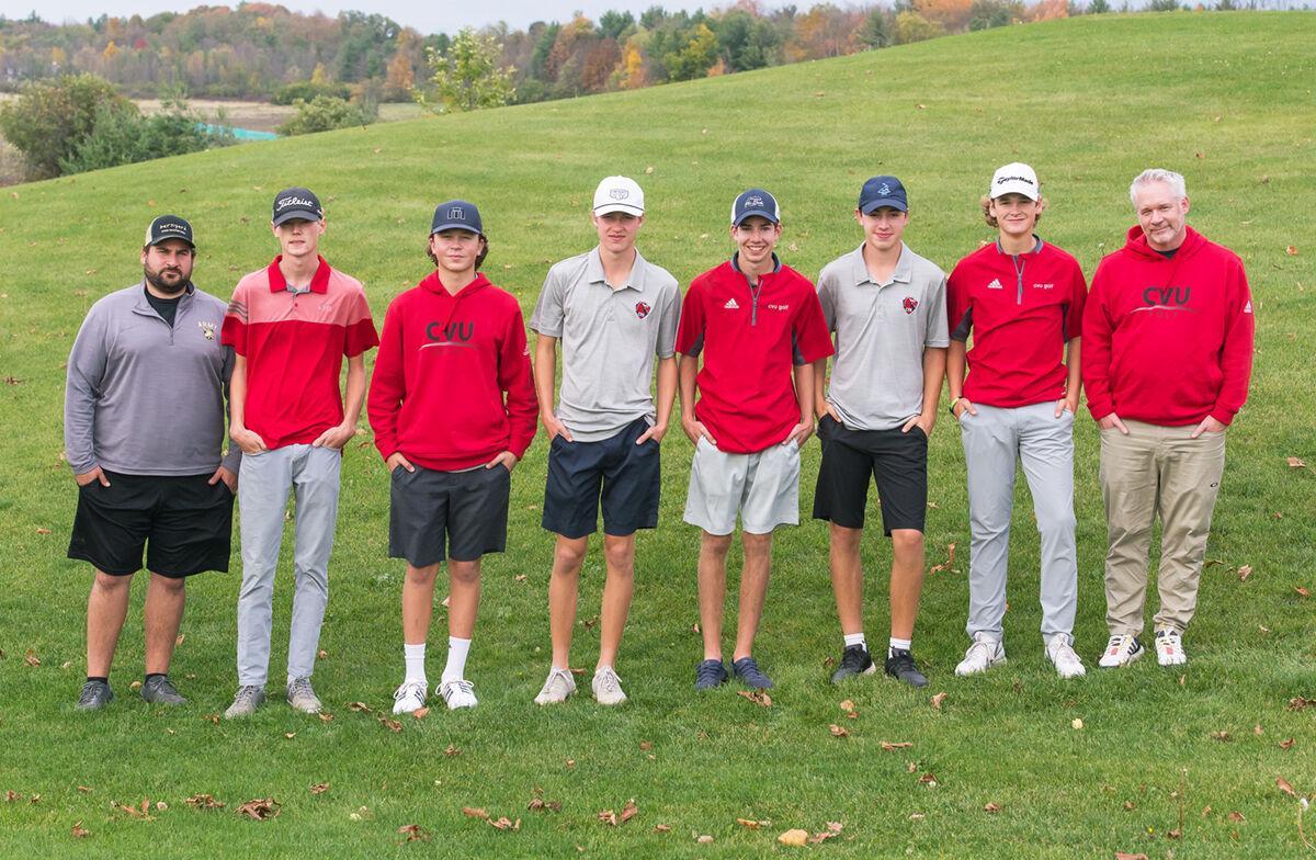 CVU boys golf team
