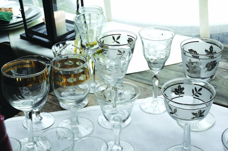 There is big demand in the region and across the state for vintage tableware and decorations.