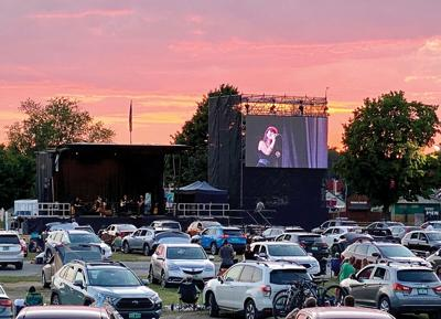 Higher Ground drive-in concert