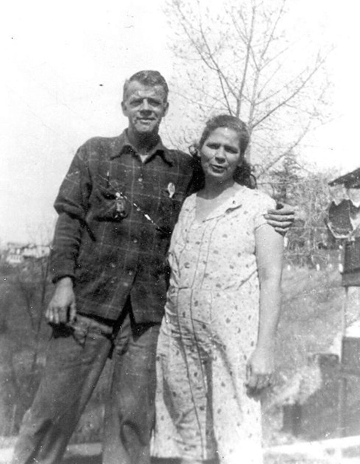 Joe Burbau and Delia Bissette