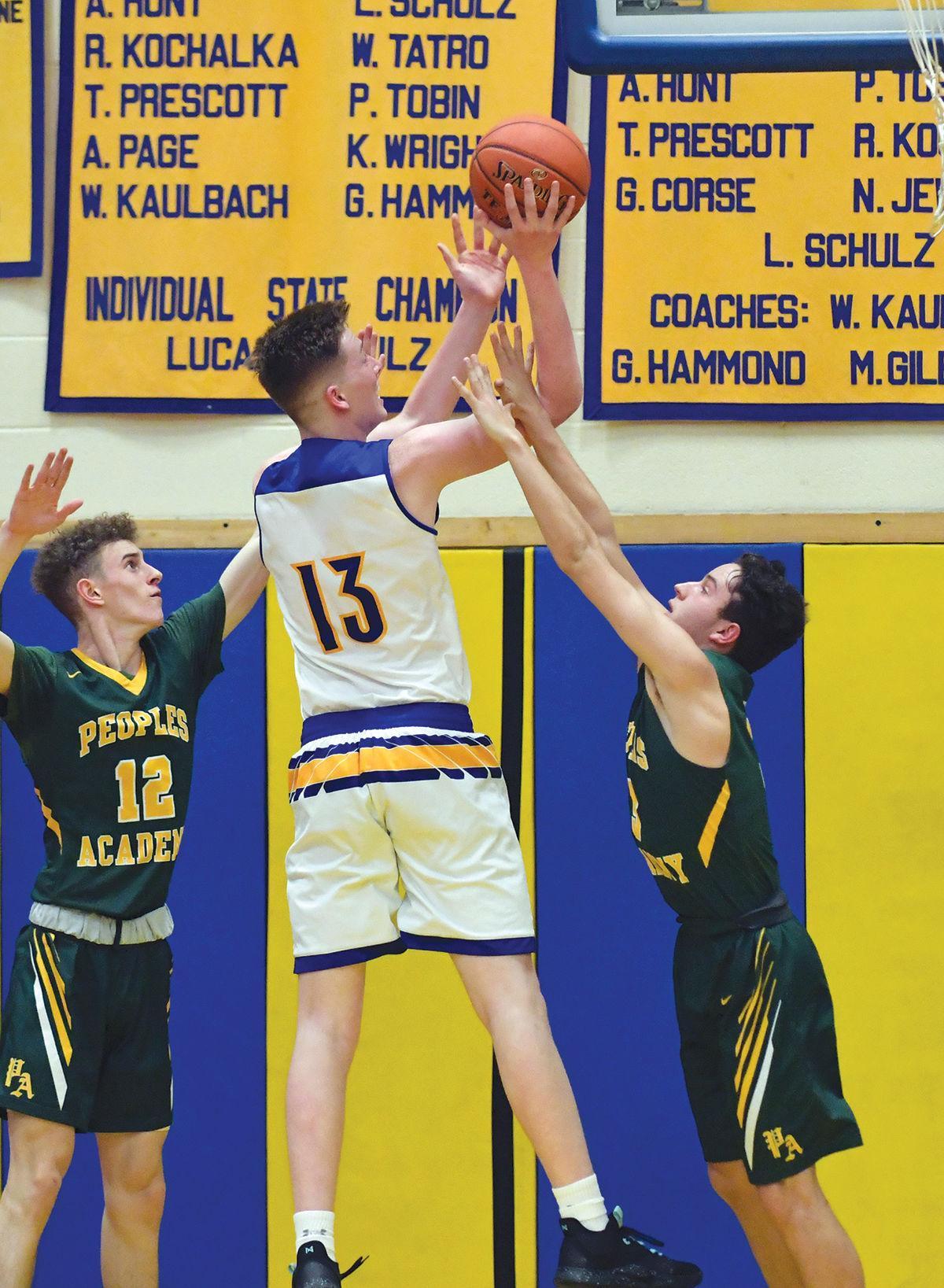Lamoille boys basketball: Hunter Wells